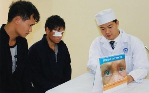 Poster, Tờ gấp, Tranh lật Quỹ Fred Hollows tại Việt Nam (FHF)