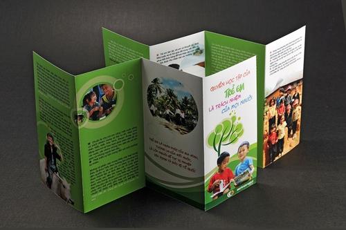 Kỷ yếu, Tờ gấp, Báo cáo  - Tổ chức ActionAid Việt Nam (AAV)